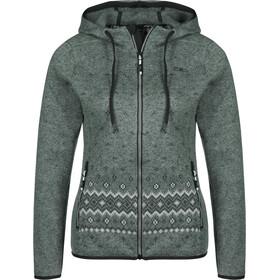 CMP Campagnolo 38H2326 Veste Fix Hood Femme, argento/asphalt